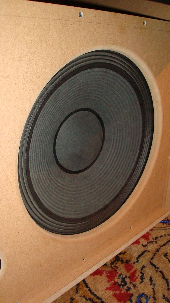 High efficiency 15 inch woofer