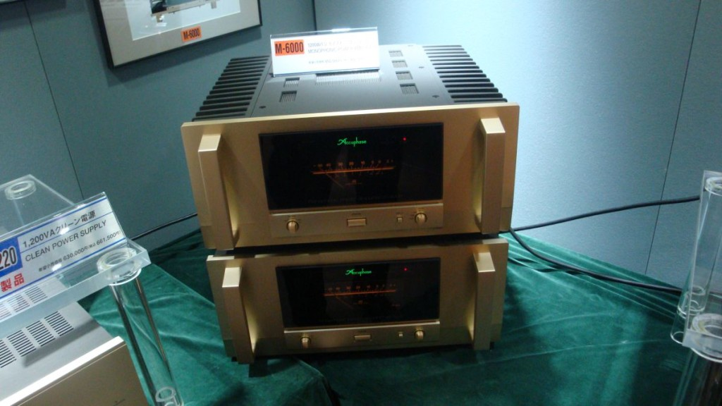 The Mighty Accuphase M-6000
