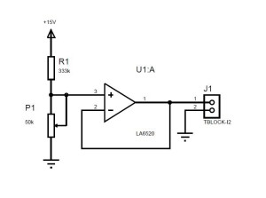 Small Voltage Generator Schematic 小さな電圧発生回路図