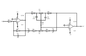 Schematic of Tone Control Circuit