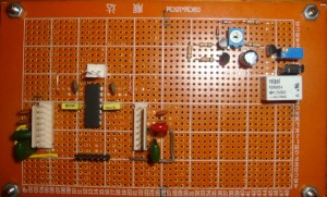 Speaker delay circuit schematic スピーカ遅延回路図