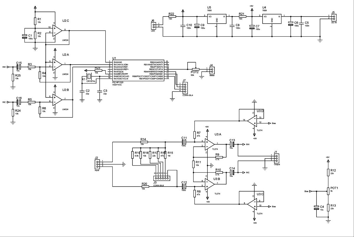 Electronics Archives Project Ryu Blog Voltage Controlled Low Pass Filter With Lm13600 Ota Circuit Schematic Balanced Line Attenuator Schematics