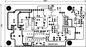 Lagger Slow Attack Guitar Effect PCB