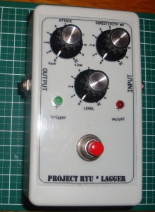 Project Ryu Lagger Guitar Pedal