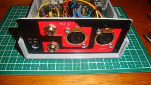 Dual Channel Mic Preamp