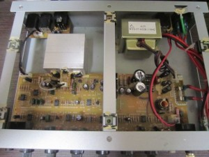 Hartke A25 Inside view